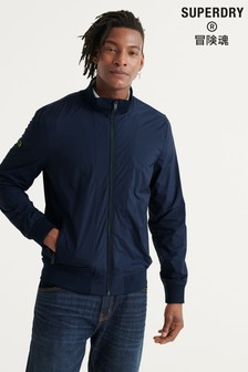 Superdry Navy Harrington Jacket