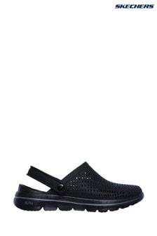 Skechers® Black Go Walk 5 Astonished Sandals