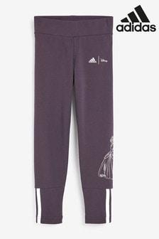 adidas Little Kids Disney™ Purple Leggings
