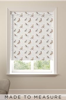 Wildlife Gamebird Natural Made To Measure Roller Blind
