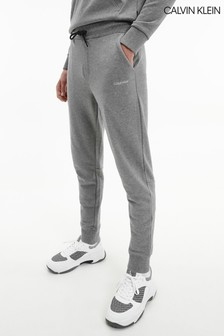 Calvin Klein Grey Small Logo Sweatpants