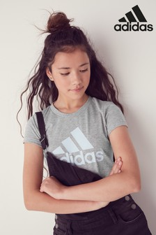 adidas Grey Must Have Logo T-Shirt