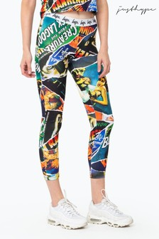 Hype. Green Universal Monsters Ripped Monster Women's Leggings