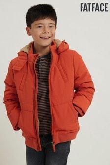 FatFace Teddy Bomberjacke, orange