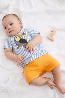 Organic Cotton Animal Romper (0mths-3yrs)