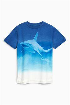 Dip Dye Shark T-Shirt (3-16yrs)