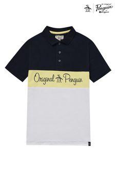 Original Penguin® Colourblock Polo Shirt