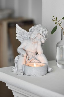 מחזיק לנר קטן בדמות מלאך