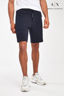 Armani Exchange Navy Shorts