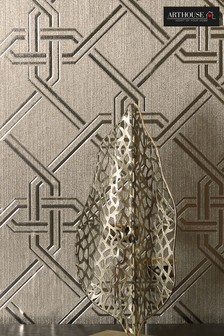 Gianni Foil Geo Wallpaper by Arthouse