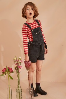 Dungarees With Purse Bag Belt (3-16yrs)