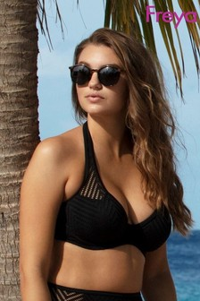 Freya Urban Banded Halter Bikini Top