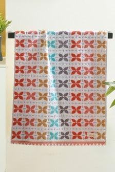 Floral Geo Towel