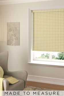 Gingham Made To Measure Roller Blind