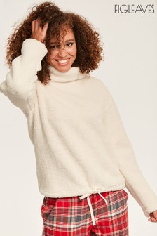 Figleaves Cream Snuggle Top
