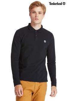 Timberland® Long Sleeve Millers River Pique Poloshirt