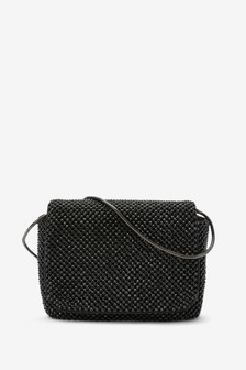 Diamanté Sparkle Across Body Mini Bag