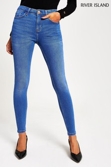 River Island Buzzy Blue Amelie Tinsel Jeans