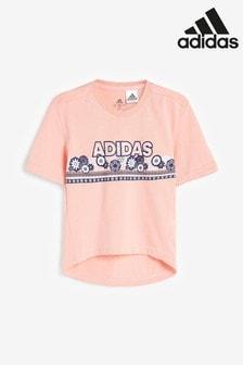 adidas Little Kids Cotton T-Shirt