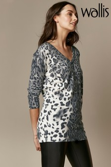Wallis Embellished Animal Jumper