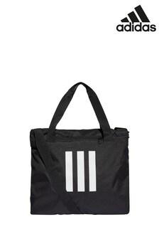 adidas Black 3 Stripe Tote Bag