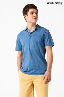 White Stuff Blue Boso Polo