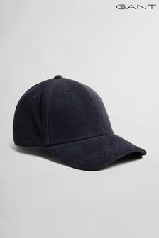 GANT Blue Corduroy Cap