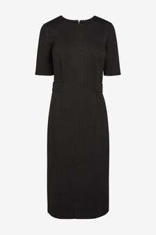 Waist Detail Ponte Bodycon Dress