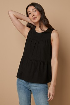 Tiered Shell Top