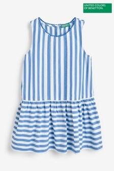 Benetton Blue Stripe Dress