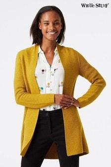 White Stuff - Orla - Cardigan lungo giallo