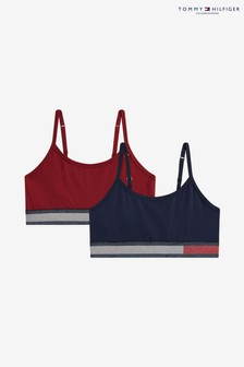 Tommy Hilfiger Girls Bralettes Two Pack
