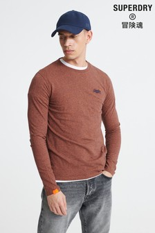 Superdry Organic Cotton Orange Label Embroidered Top