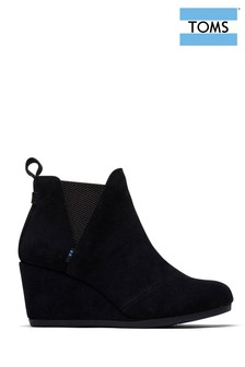 TOMS Kelsey Wedge Ankle Boots