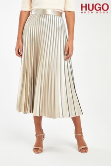 HUGO Gold Raplissa Skirt
