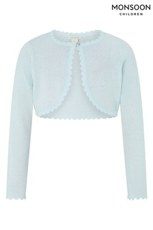 Monsoon Children Blue Niamh Cardigan
