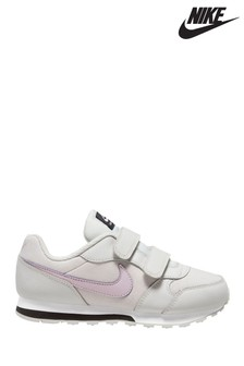 Nike Grey/Pink MD Runner Junior Trainers
