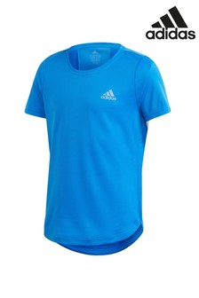 adidas Performance Blue Head Ready Run T-Shirt