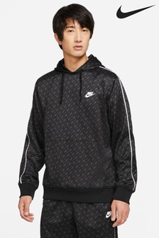 Nike Repeat All Over Print Pullover Hoodie