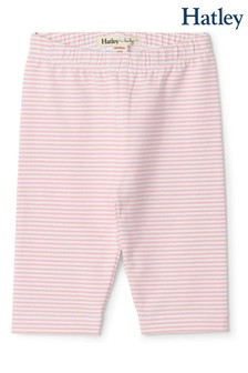 Hatley Pink Stripe Baby Capri Leggings
