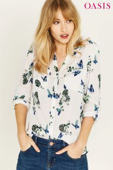 Oasis Natural Butterfly Shirt