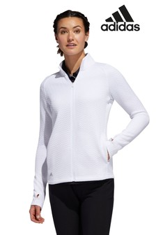 adidas Golf Full Zip Textured Top