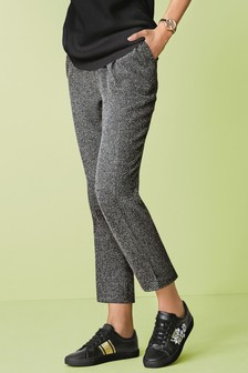 Elasticated Peg Trousers