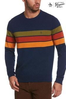 Original Penguin Chest Stripe Sweater