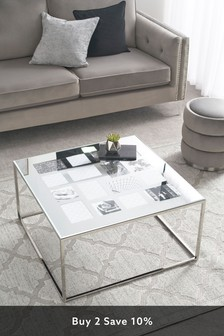 Mirror Photo Coffee Table