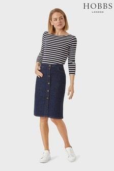 Hobbs Blue Emmeline Skirt