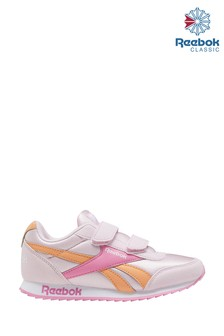 Reebok Pink/Orange Jogger Junior Trainers