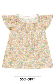 Bonpoint Baby Girls Multi Cotton Outfit