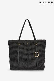 Ralph Lauren Crochet Straw Summer Bag