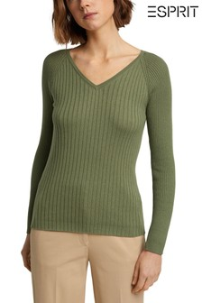 Esprit Green Women's Sweater